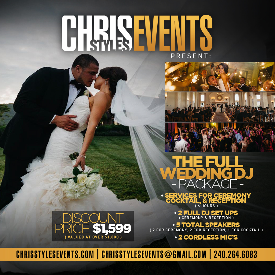 The Full Wedding DJ Package